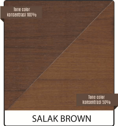 pernis kayu biovarnish warna salak brown