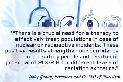 PLX-R18, Yaky Yanay Quote