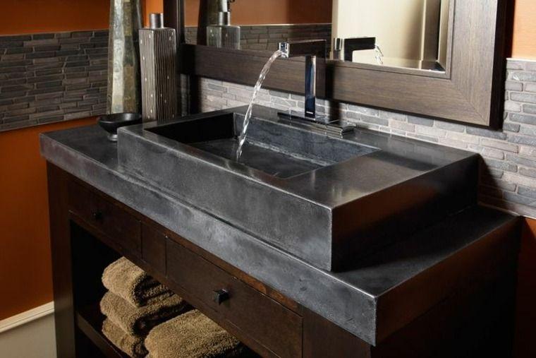 evier vasque en beton cire comment