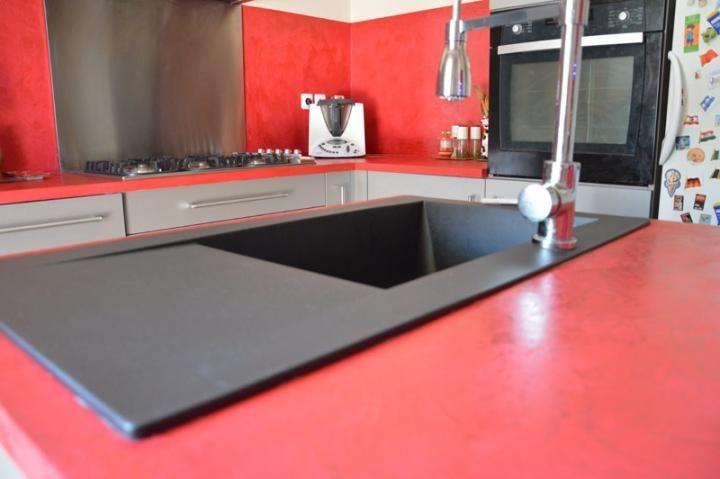 beton cire dans une cuisine conseils