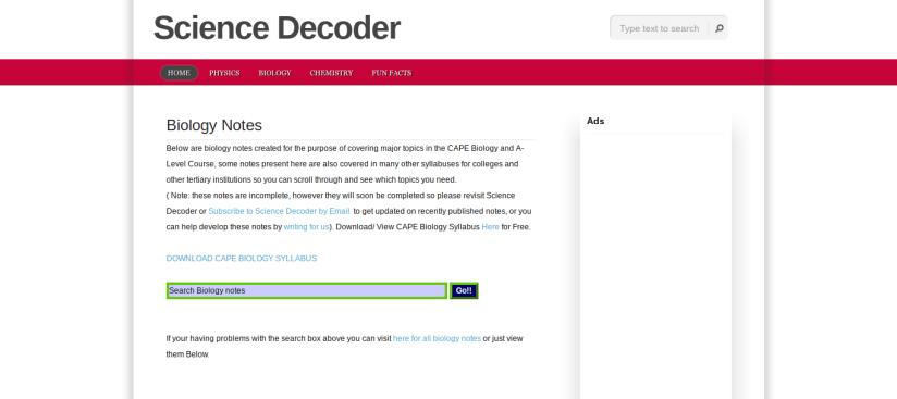 science decoder