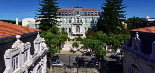 Pestana Palace Front View