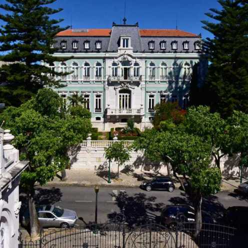 Pestana Palace Front View
