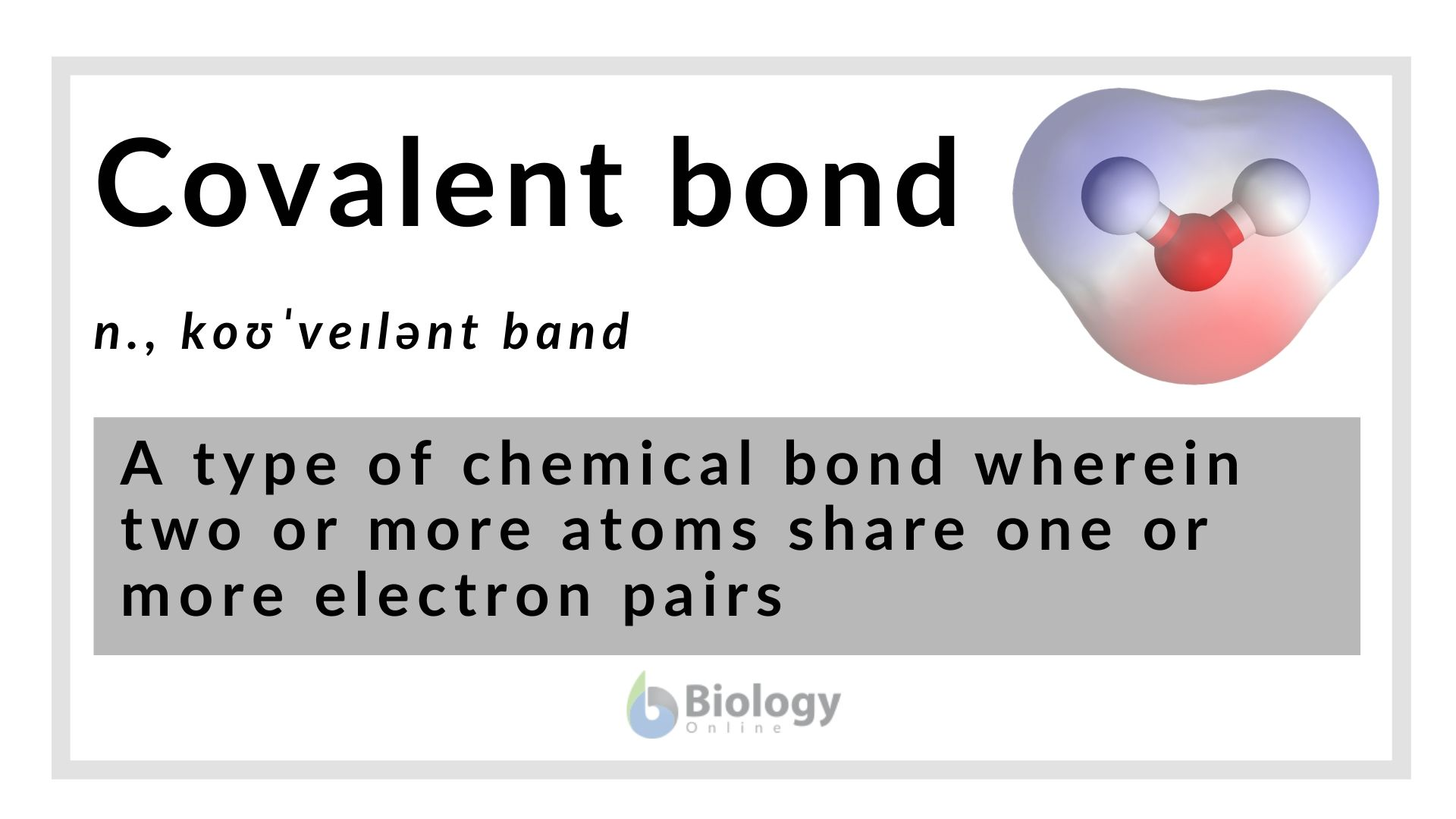 Covalent Bond Definition And Examples