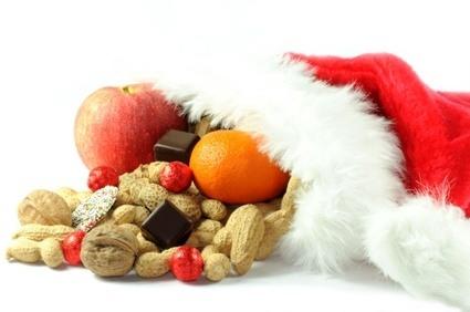 Menu navideño vegetariano