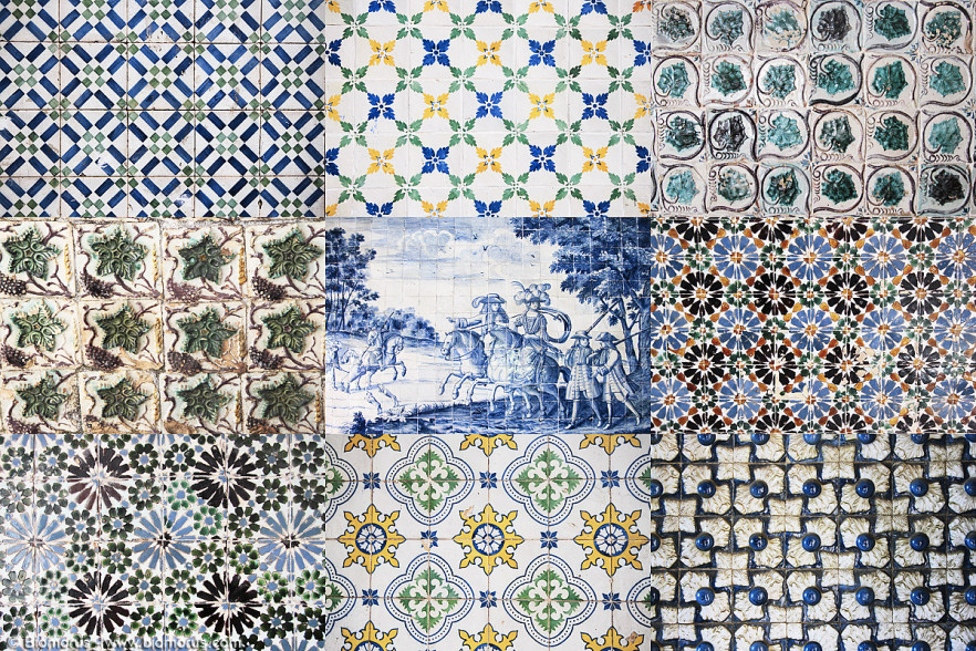 Azulejos (Portogallo, 2010) - (Canon EOS 7D, EF-S 17-85 IS, collage di 9 scatti).