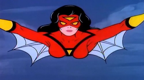 'Dedicated to fighting evil while weaving her web of justice...' ('Spider-Woman,' 1979)