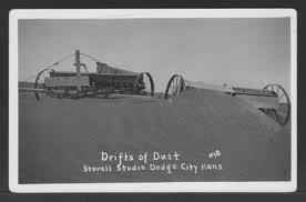 Dustbowl  days storm buries Dodge, KS