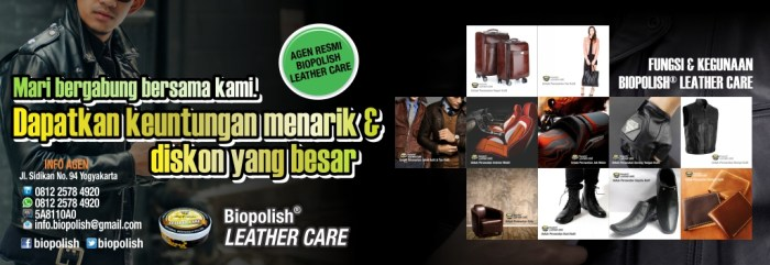 Agen Resmi Biopolish Leather Care