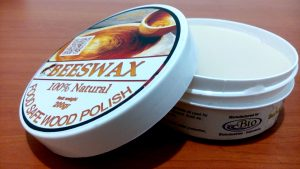 BIOPOLISH BEESWAX® – FOOD GRADE BEESWAX WOOD POLISH –