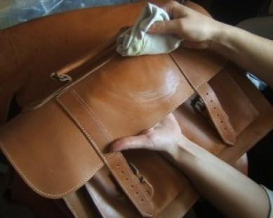 tips membersihkan barang kulit dari noda