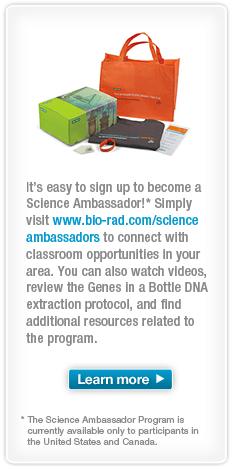 Bio-Rad Science Ambassador details image
