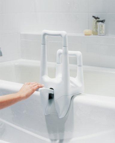 Moen Glacier Tub Grip Bathroom Safety BioRelief