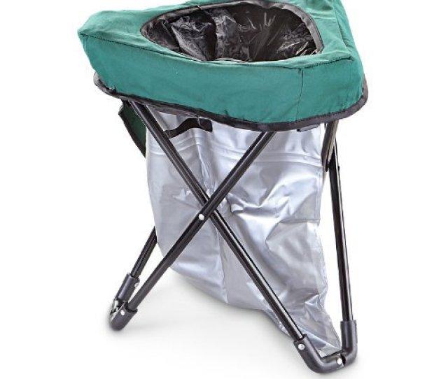 Folding Portable Toilet Chair