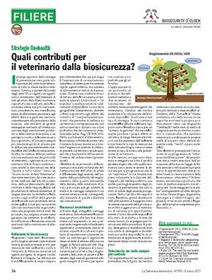Contributi per il veterinario dalla biosicurezza