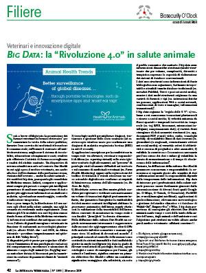 """BIG DATA: la """"Rivoluzione 4.0"""" in salute animale"""