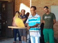 Atividade do projeto com produtores de Pedro de Toledo.