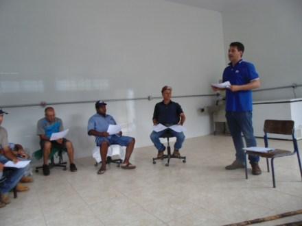 As coletivas foram realizadas no mês de fevereiro