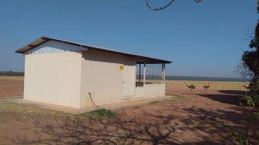 Instalação de propriedade em Querência
