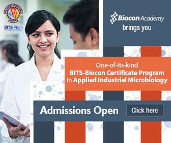 Biocon academy admissions open