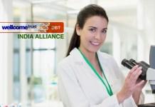 Grants Advisor Position @ Wellcome Trust/DBT India Alliance