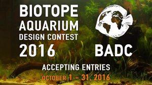 Biotope Aquarium Design Contest 2016