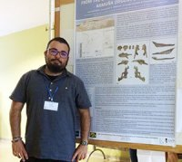 Iván Narváez en el 13th Annual Meeting of the European Association of Vertebrate Palaeontologists