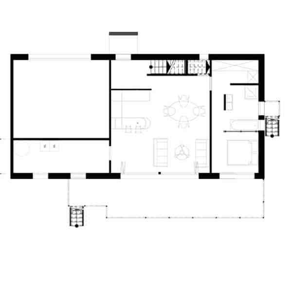 Villa Kubic - Plan