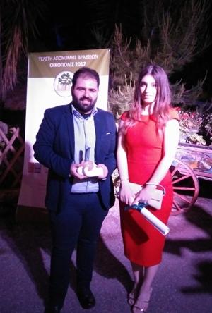 ΟΙΚΟΠΟΛΙΣ 2017: Βραβείο Ετήσιου Προγράμματος για το Περιβάλλον στα Εργαστήρια ΒΙΟΧΗΜΙΚΗ