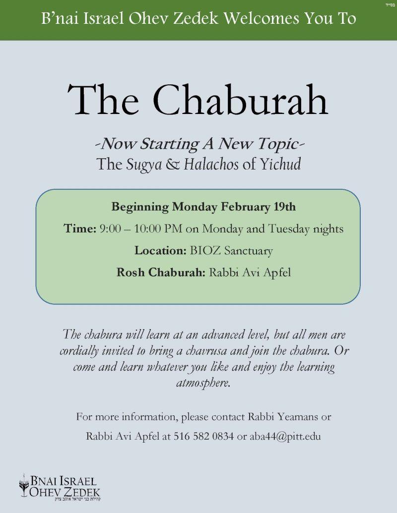 The Chaburah