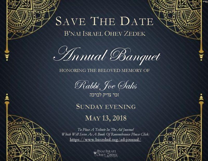 BIOZ Annual Banquet