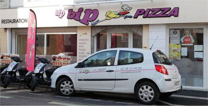 bip bip pizza quimper pluguffan