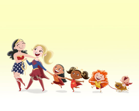 Diverse Female Superheroes in Children's Books. Author Sonia Panigrahy shares her inspiration behind creating Nina the Neighborhood Ninja to showcase girls in picture books as strong, smart, and savvy superheroes.