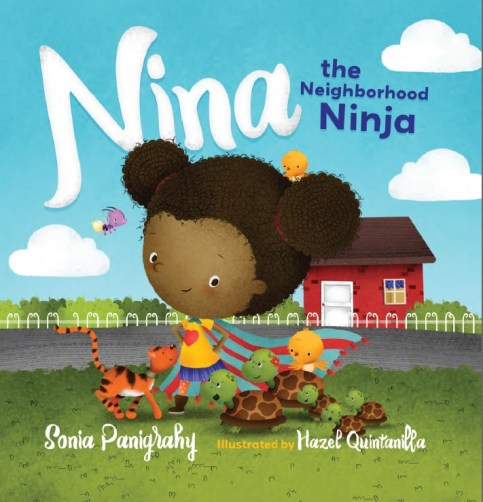 Nina is a strong female superhero that deserves to have a place on your diverse bookshelves for children.