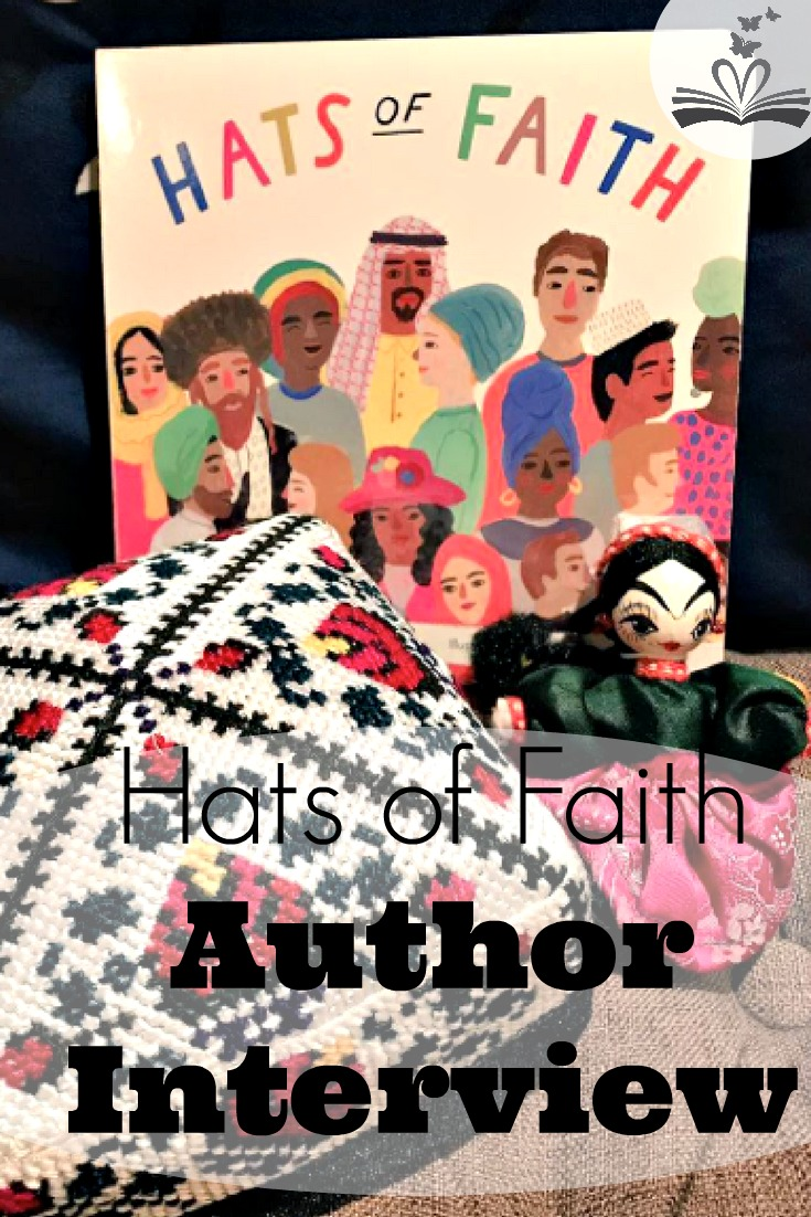 An author interview with Medeia Cohan who wrote board book, Hats of Faith. She gives us an inside look at her vision for interfaith and diversity education.