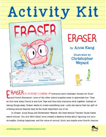 Eraser Book Review - Biracial Bookworms LLC