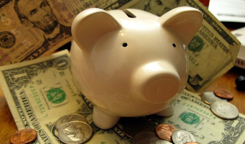 money piggy bank Washington just dipped into retirement savings to fund itself