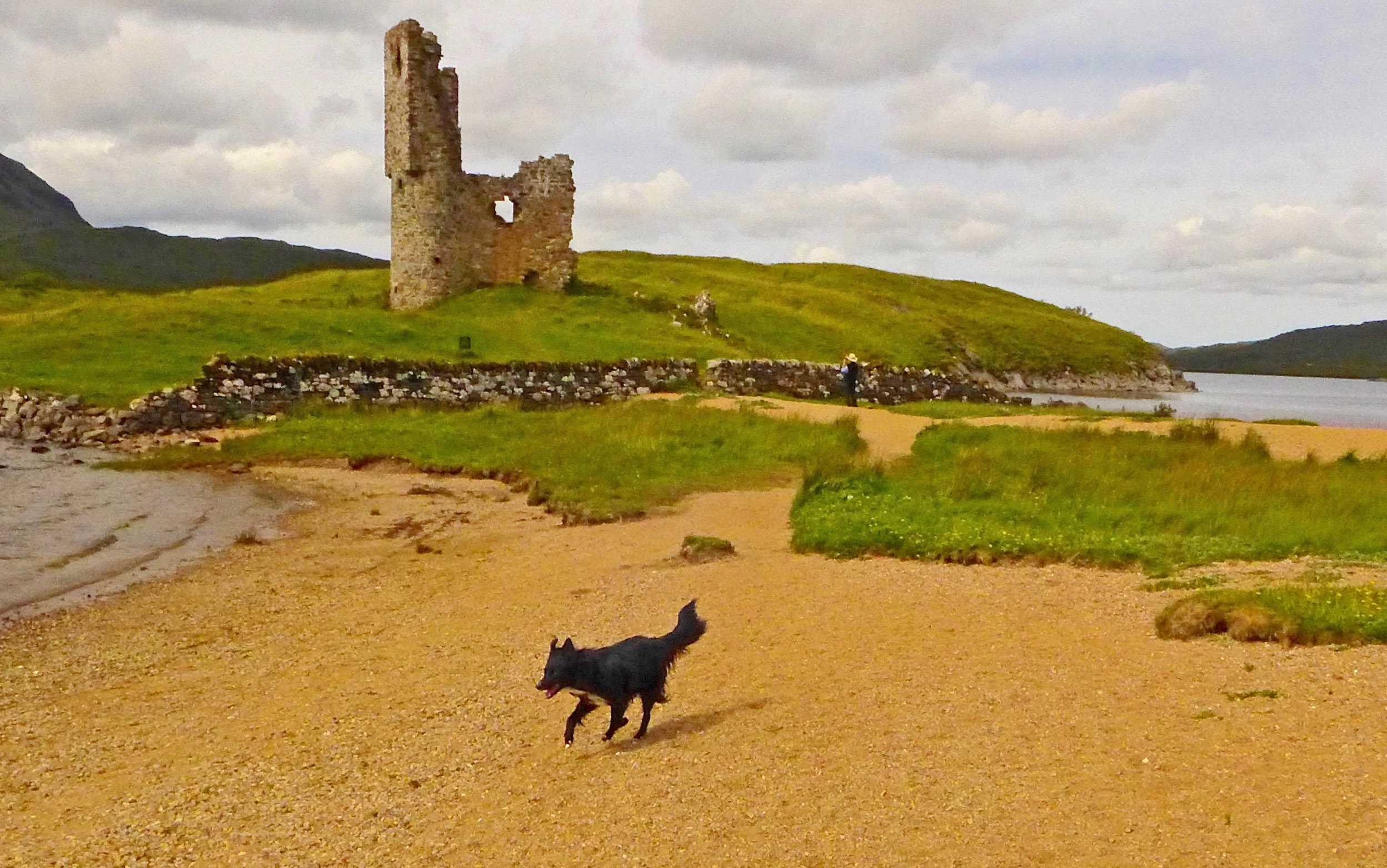 Ardvreck Castle, from the latter 1400s.