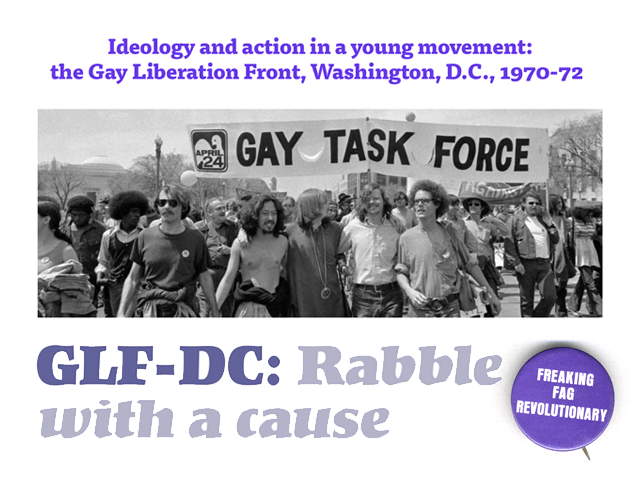 GLF-DC: Rabble with a cause