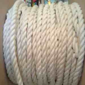 100% Natural Cotton Twist Rope 1/2″ Thick x 10 feet