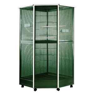 Indoor Aviary Corner Bird Cage AE 100G-1 Green Large