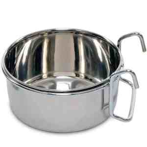 Coop Cup Stainless Steel Hook On Dish 20 oz