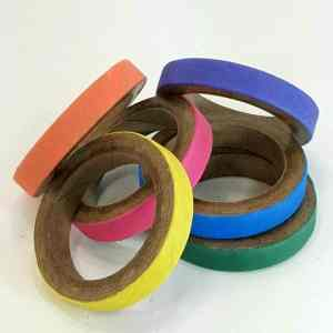 Birdie Bagels Small 3 in x 1/2 in Paper Chew Rings 6 pc