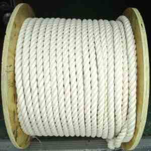 100% Natural Cotton Twist Rope 1″ Thick Sold by the Foot