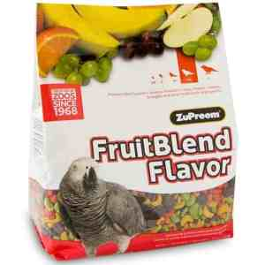 Zupreem Fruit Blend Parrot Conure Avian Maintenance 3.5 lb (1.59 kg)
