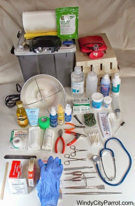 ulltimate fist aid kit for birds