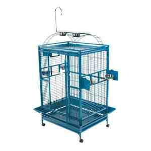 Play Top Bird Cage for Large Parrots by AE 8004030 White