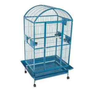 Dome Top Bird Cage for Large Parrots by AE 9003628 Black