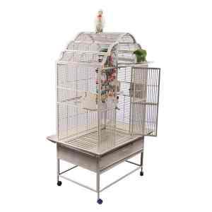 Victorian Top Bird Cage for Medium Parrots AE GC6-3223 Black