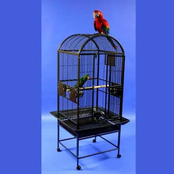 Dome Top Bird Cage for Medium Parrots by AE 9002422 Sandstone
